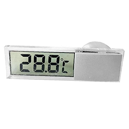 Uayasily LCD Digital Mesa Auto Dashboard Escritorio Reloj Electrónico Easy-toer Fecha Time Calendar Pantalla Portátil Reloj LCD Mesa Digital Color Aleatorio