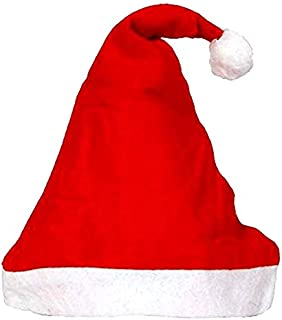 Christmas Hats, Santa Claus Caps for Kids Upto 3 Yrs, Small Size, Xmas ( Pack 1)