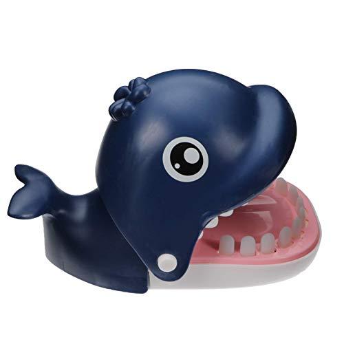 Juguetes de ballena Juguetes Juguetes Mordering Dedist Dentist Funny Toys Familia Tricky juego Juguete Boca Dentista Matiendo Juguete Juego de Juego para Niños Familia Azul JXNB ( Color : Blue )