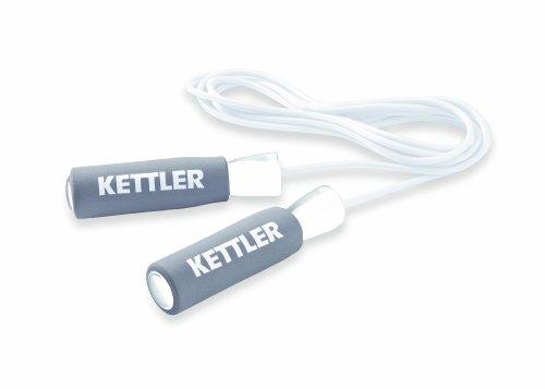 Kettler - Jump Rope, Corda per Saltare Bianco/Grigio