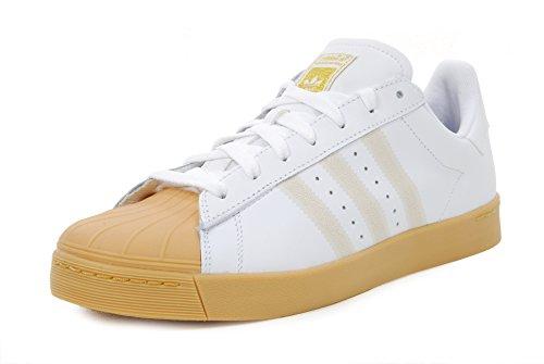 Adidas Superstar Vulc Adv - ftwwht/cblack/ftwwht, Größe Adidas:12.5