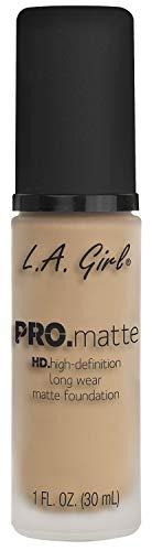 L.A. Girl Base de Maquillaje Pro Matte Nude 30 ml