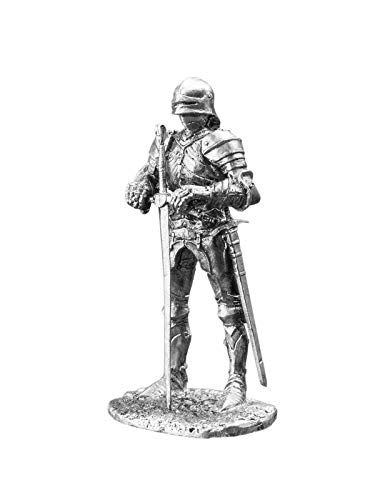Ronin Miniatures - A Noble Knight in Gothic Armor of The Late 15th Century - Size 1/32 Scale - 54mm Action Figures - Home Collectible Figurines