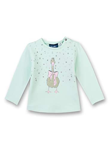 Sanetta Sanetta Mädchen Langarm Sweatshirt Sweatshirt-Grün (Light green-4970) 62, Farbe:Grün (Light green-4970), Größe:62