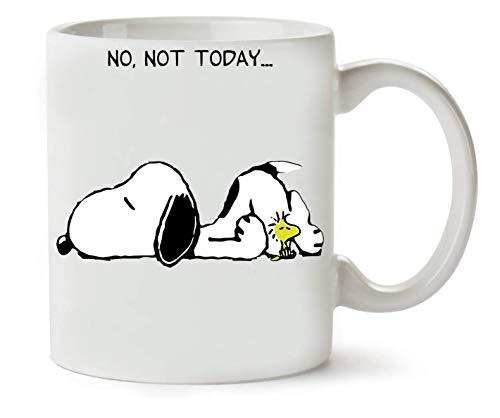 BakoIsland No Not Today Snoopy Dog Klassische Teetasse Kaffeetasse
