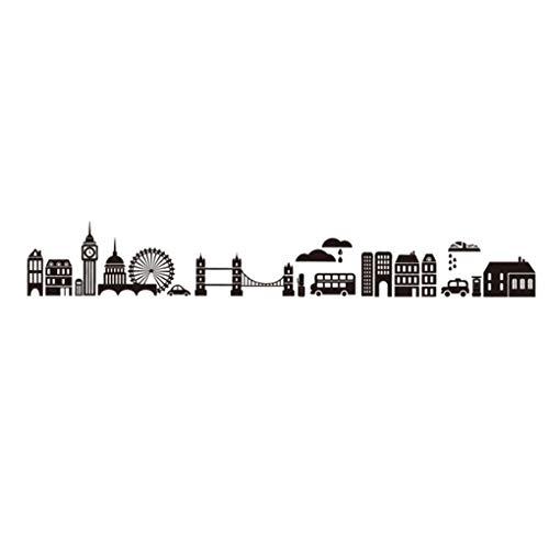 Stickers muraux en PVC Motif fleurs Papillon Animaux de dessin animé Mesure de la hauteur Détachable Décoration de la maison Décoration de la maison Bébé Garçons Filles Enfants Décalques Cuisine, 1