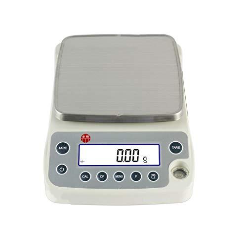 Precisie Digitale Analytische Elektronische Weegschaal Voor Wegen Tot 6200 G Met 1 Milligram Resolutie Laboratoriumapotheek (Capacity : 2200g/0.01g)