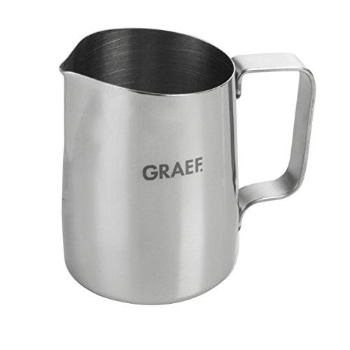 Graef 146442Latte de tipo de lecheVersare, 0.65l, acero inoxidable brillante