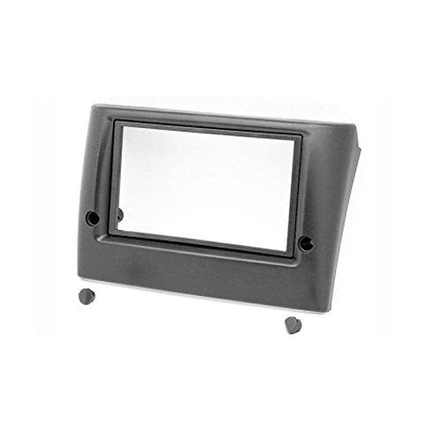 Carav 11-059 doppio Din, DVD, Radio Stereo Adattatore per cruscotto per autoradio, per installazione circondato-Mascherina autoradio per FIAT Stilo, 173 x 98 e 178 mm x 102 mm