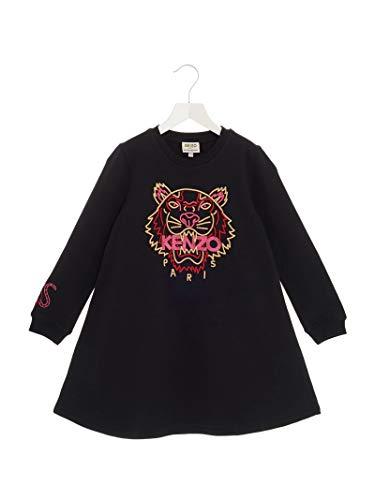 Luxury Fashion | Kenzo Meisjes KP3032802 Zwart Katoen Jurken | Lente-zomer 20