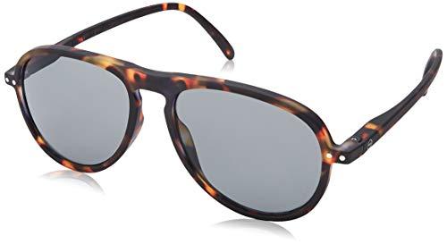 IZIPIZI #I Tortoise Aviator With Grey Lenses Sunglasses +0 Tortoise