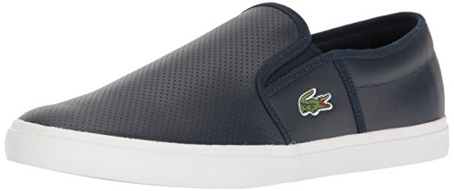Lacoste Mens Gazon Bl 1 Fashion Sneaker, Navy, 12 M US