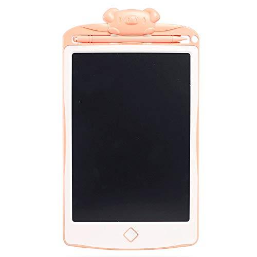 ZzheHou Kinder LCD Writing Board Kinder 8,5-Zoll-LCD Tragbaren Haushalt Elektronische Wandtafel Zeichenflächen Lichtfarbe Doodle Kinder Doodle Vorstand (Farbe : Rosa, Größe : 8.5 inches)