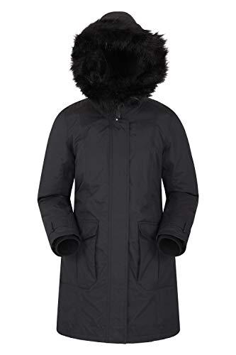 avis doudoune grand froid professionnel Doudoune Femme Mountain Warehouse Aurora – Veste imperméable, manteau d'hiver respirant, coutures…
