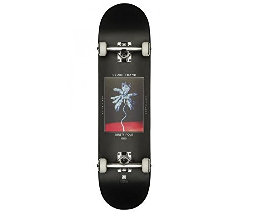 Globe G1 Palm Off Skateboard, Black, 8