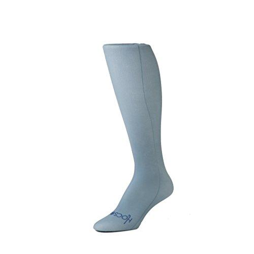 Hocsocx Strümpfe/Stutzen, zum Tragen unter Schienbeinschonern, für Hockey, Fußball, für Mädchen und Frauen geeignet, in 7 Farben verfügbar, stahlgrau, Womens EU 36-42