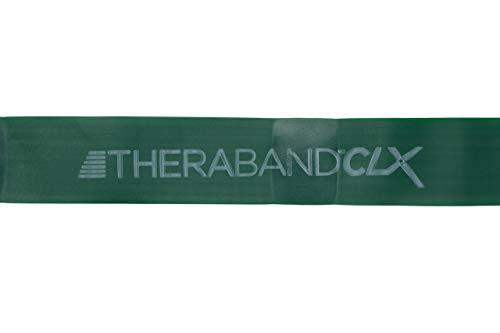 Thera-Band Unisex– Erwachsene CLX Fitnessband, STARK, GRÜN, OneSize