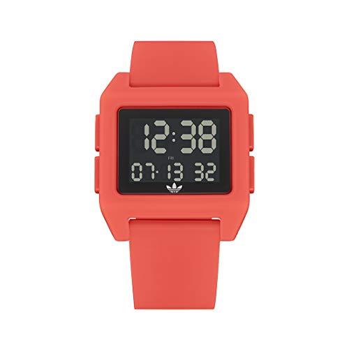 adidas Reloj Digital para Unisex Adulto de con Correa en Silicona Z15-3269-00