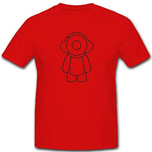 Copytec Speaker Boy Altavoces auriculares Sonido Niño FUN Humor Diversión–Camiseta # 2174...