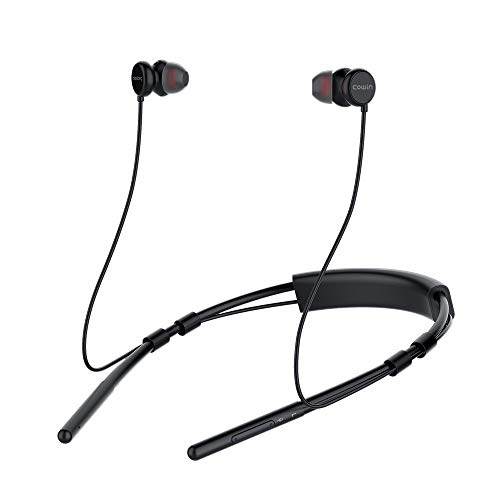 meidong HE6 Isolution Neckband Bluetooth Headphones, Wireless in-Ear Bluetooth Earbuds ith Sweat-Resistant Design Built in Microphone & Volume Control Enhanced Bass Ear Buds