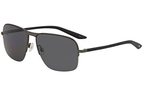 Puma PU0120S 001 Gafas de sol, Gris (001-Ruthenium/Grey), 59 Unisex Adulto