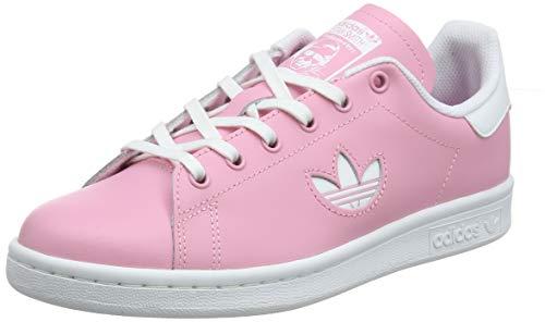 adidas Stan Smith J_CG6670, Scarpe da Ginnastica Unisex Bambini, Rosa (Light Pink/Ftwr White/Ftwr White Light Pink/Ftwr White/Ftwr White), 38 2/3 EU