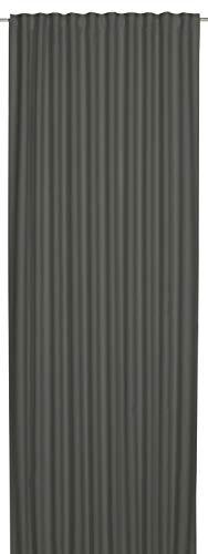 Elbersdrucke Midnight 07 Fertigdekoration, Polyester, grau, 255 x 140 cm