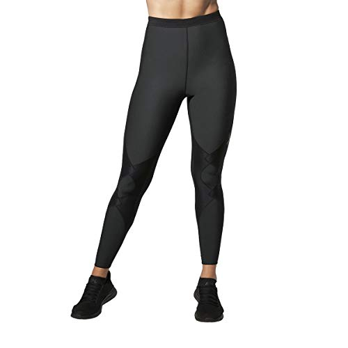 CW-X Women's Expert 2.0 Insulator Joint Support Compression Tight, Black, X-Small