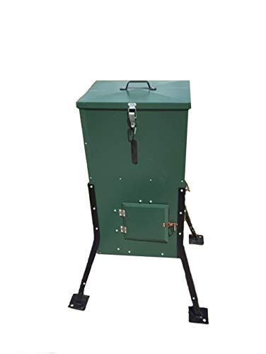 Foreverlast Woods to Water Directional Fish/Wildlife Feeder, 125 LBS, Green
