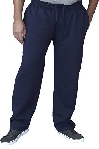 Rockford Duke Albert Hombre Talla Grande Pantalón de Chándal - Azul Marino,...