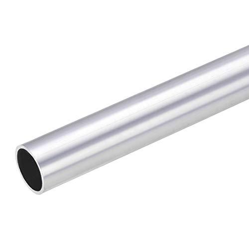 sourcing map Tubo redondo de aluminio 6063, 22 mm OD 19...