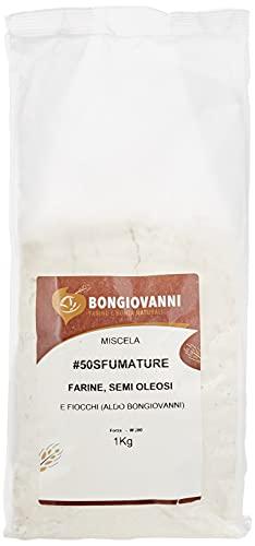 BONGIOVANNI FARINE E BONTA' NATURALI #50sfumaturedicereali (farina Multicereali Aldo Bongiovanni), 1030 Grammo