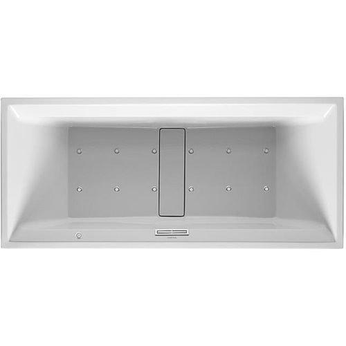 Duravit DU - Bañera de hidromasaje (1800 x 800 mm, sistema de aire), color blanco