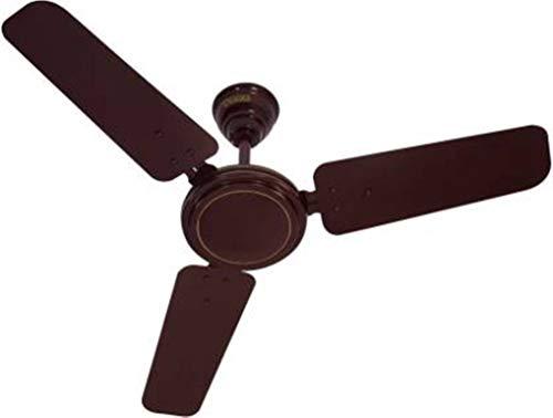 Usha 900MM Swift W/O REG BR CF 900 mm 3 Blade Ceiling Fan (Brown, Pack of 1)