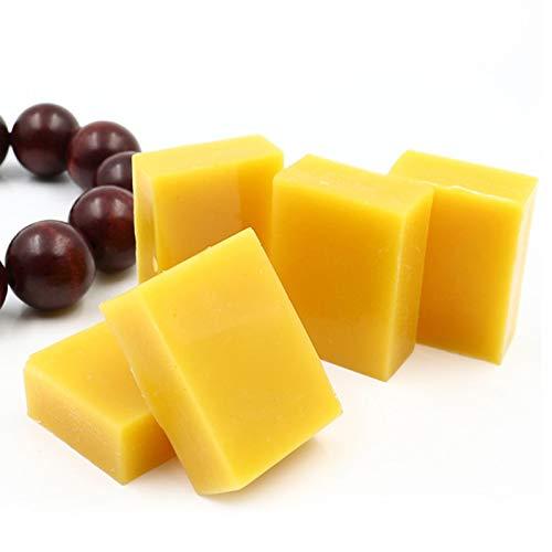 SALALIS Pulido de Cera de Abejas de Grado cosmético Multifuncional 10 Piezas de Mantenimiento de Cera de Abejas para el Pulido de Sellos de Suelos de Muebles