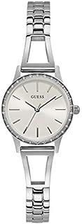 ساعة رسمية للنساء من جيس، هيكل مصنوع من الستانلس ستيل، مينا ابيض، انالوج - GW0025L1