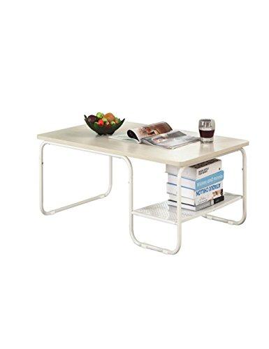 LHP Etagères Simple Table de Salon de Style Moderne Table Basse (Acier)