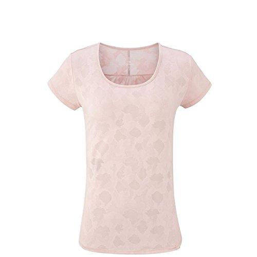 Eider Flex Jacquard Tee W Shirt Femme, Soft Rose, FR : 2XL (Taille Fabricant : XXL)