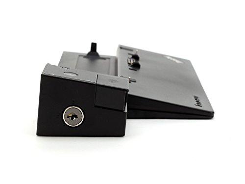 Lenovo ThinkPad Pro Dock 04W3948 (passend für ThinkPad T440, T440s, L540, T440p, T540p, L440, X240) OHNE NETZTEIL (Generalüberholt)