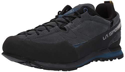 La Sportiva Boulder X Approach Shoe, Carbon/Opal, 45