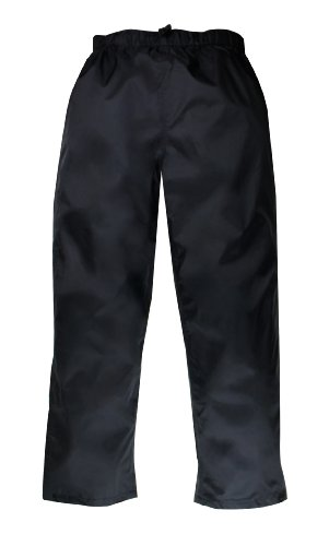 Red Ledge Men's Thunderlight Pant Pull On Rain Pant,Black,Medium