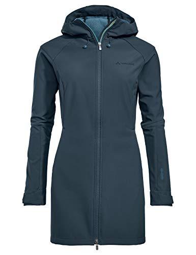 VAUDE Damen Women's Skomer Softshell Coat Jacke, Steelblue, 40
