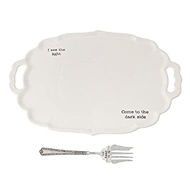 Dark/Light Turkey Platter Set, 14  x 20 .