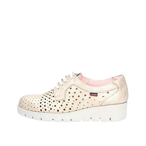 Callaghan haman, Zapatos de Cordones Derby para Mujer, Dorado (Nude 1), 39 EU