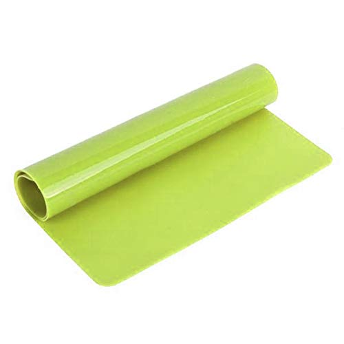 Siliconen pad mat bakvormen mat silicone idder isolatie pad koekjes mat bakpapier anti-aanbak dikke keukenhulp free size groen