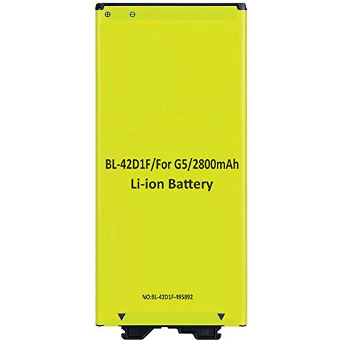 HDCKU Best Replacement Li-ion Battery for LG G5 BL-42D1F (Compatible with All G5 Carriers) | G5 Spare OEM Battery