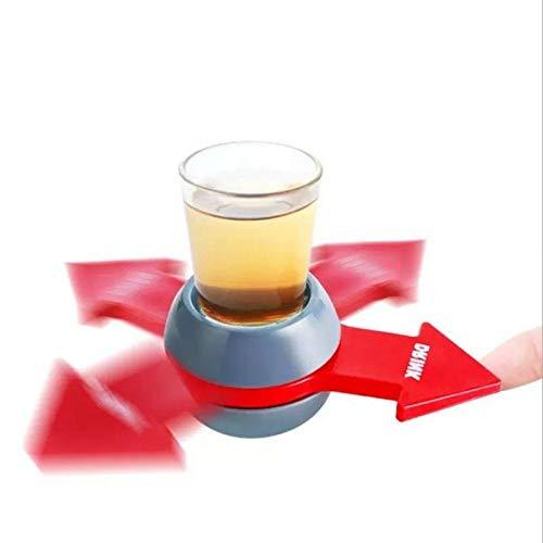 LAIMALA Drinking Game Spinner Shot Gioco della Bottiglia Party Adulti