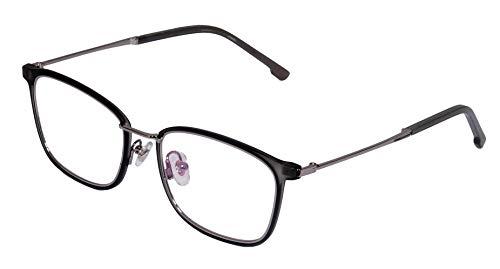 Lensport Eyewear Spectacle Frame For Men Black- Silver