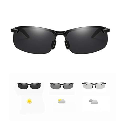 Gafas de sol fotocromáticas con lentes polarizadas, gafas de sol deportivas polarizadas para hombre y mujer, ciclismo, correr, conducir, pesca, lentes para protección UV al aire libre