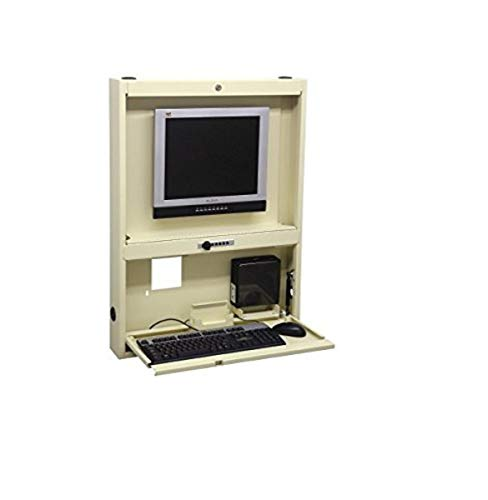 OMNIMED 291440-lg montado en la pared de escritorio/Centro de trabajo, luz gris